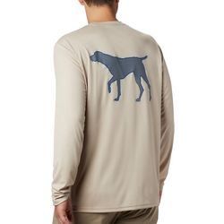 Columbia Mens PHG Terminal Shot Hound Long Sleeve T-Shirt