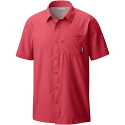Columbia Mens PFG Slack Tide Camp Short Sleeve Shirt