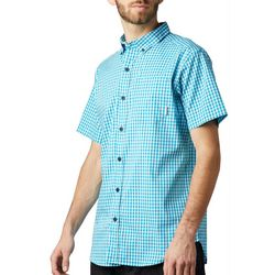 Columbia Mens Rapid Rivers II Checkered Shirt