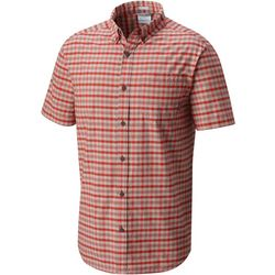 Columbia Mens Rapid Rivers II Plaid Print Shirt