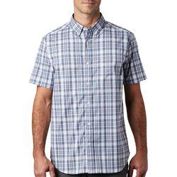 Columbia Mens Rapid Rivers II Plaid Pattern Shirt