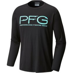 Columbia Mens Terminal Tackle PFG Long Sleeve Shirt