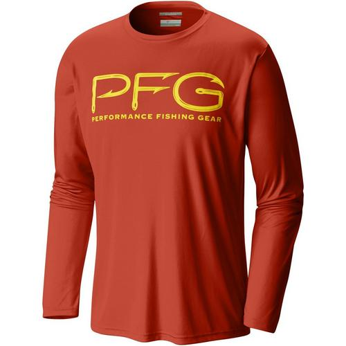 3a40f1a364d Columbia Mens PFG Terminal Tackle Long Sleeve Shirt | Bealls Florida