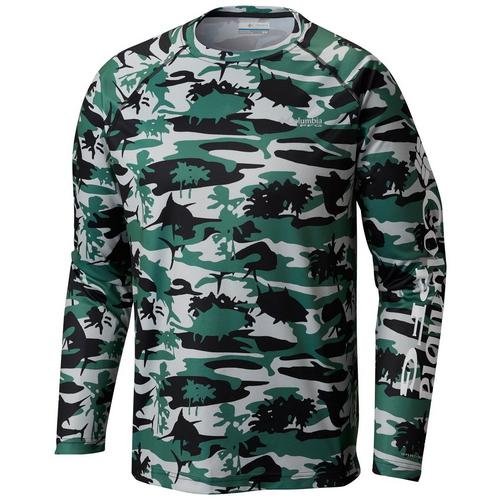 4948b49e Columbia Mens Tall Terminal Tackle Camo Print T-Shirt | Bealls Florida