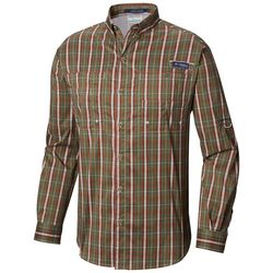 Columbia Mens PFG Super Tamiami Tartan Plaid Shirt