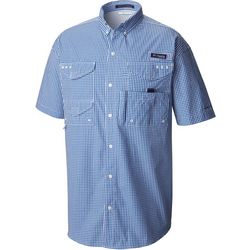 Columbia Mens Super Bonehead Gingham Shirt