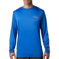 Columbia Mens Terminal Tackle Florida Long Sleeve T-Shirt