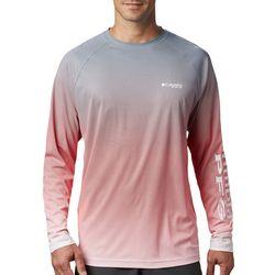 Columbia Mens PFG Terminal Deflector Ombre T-Shirt