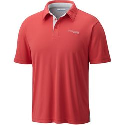 Columbia Mens Super Low Drag II Solid Polo Shirt