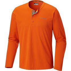 Columbia Mens Bucktail Henley Shirt