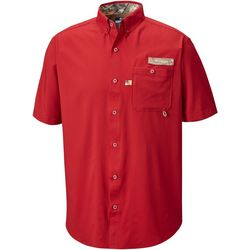 Columbia Mens Bucktail Short Sleeve Shirt