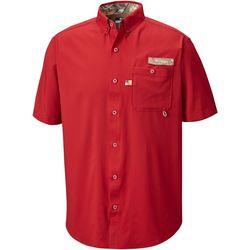 Columbia Mens Bucktail Short Sleeve Shirt
