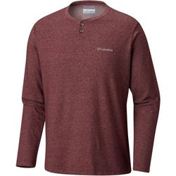 Columbia Mens Thistletown Park Jersey Henley Shirt