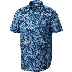Columbia Mens Under Exposure II Leaves Shirt
