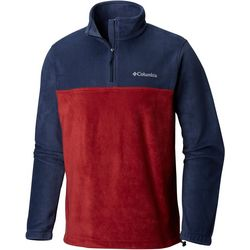 Columbia Mens Steens Mountain Blocked Half Zip Fleece Jacket