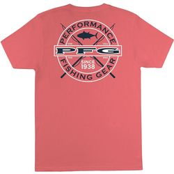 Columbia Mens PFG Logo Short Sleeve T-Shirt
