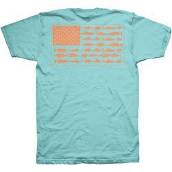 Columbia Mens PFG Americana Fish T-Shirt