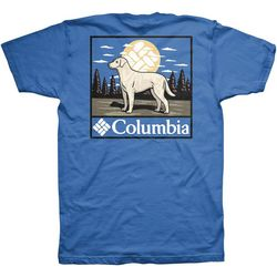 Columbia Mens Hillside Dog T-Shirt
