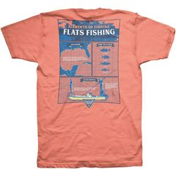 Columbia Mens PFG Elements of Fishing Flats Fishing T-Shirt