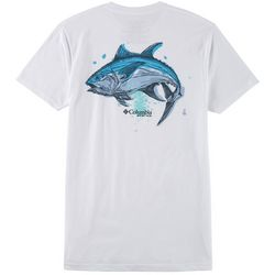 Columbia Mens PFG Fish Graphic Short Sleeve T-Shirt