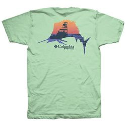 Columbia Mens PFG Springer Fish Short Sleeve T-Shirt