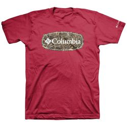 Columbia Mens Hewho Logo T-Shirt