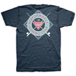 Columbia Mens PFG Angle Logo T-Shirt