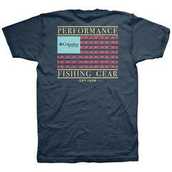 Columbia Mens PFG Travel T-Shirt