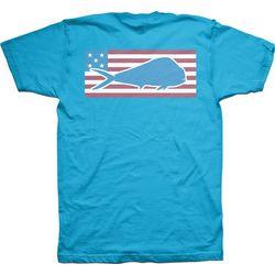 Columbia Mens PFG Patriotic Tandor T-Shirt
