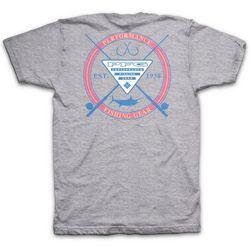 Columbia Mens PFG Indirect Heathered T-Shirt