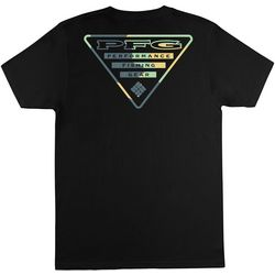 Columbia Mens PFG Triangle Logo T-Shirt