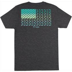 Columbia Mens PFG Youssou Heathered Short Sleeve T-Shirt