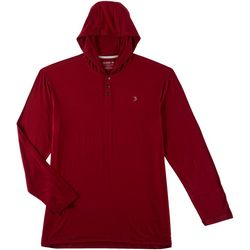Reel Legends Mens Hilo Henley Hoodie
