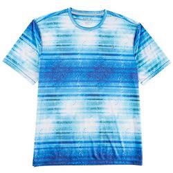 Reel Legends Mens Reel-Tec Striped Dorado T-Shirt
