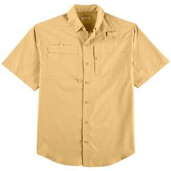 Reel Legends Mens Big & Tall Saltwater Short Sleeve Shirt