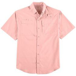 Reel Legends Mens Big & Tall Saltwater Short Sleeve Shirt