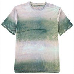 Reel Legends Mens Reel-Tec Kingfish Skin T-Shirt