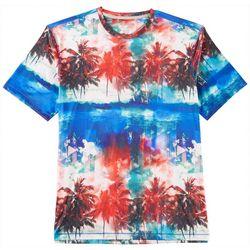 Reel Legends Mens Reel-Tec Beach Stripe T-Shirt
