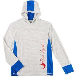 Reel Legends Mens Freeline Jig Hooded Pullover