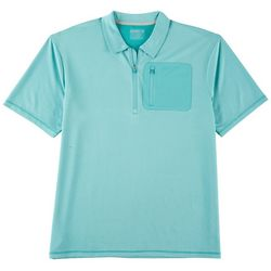 Reel Legends Mens Freeline Pocket Polo Shirt