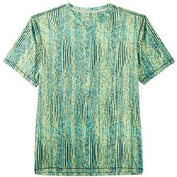 Reel Legends Mens Reel-Tec Abstract Grain T-Shirt