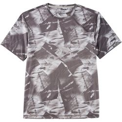 Reel Legends Mens Reel-Tec Abstract Short Sleeve T-Shirt