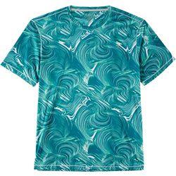 Reel Legends Mens Reel-Tec Quick Lines Short Sleeve T-Shirt