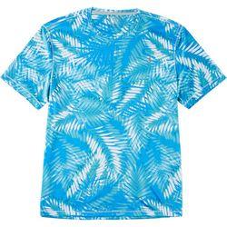 Reel Legends Mens Reel-Tec Trio Palm Short Sleeve T-Shirt