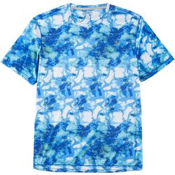 Reel Legends Mens Reel-Tec Shoreline Short Sleeve T-Shirt