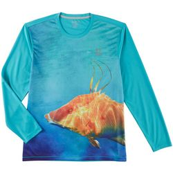 Reel Legends Mens Freeline Hogwater Long Sleeve T-Shirt