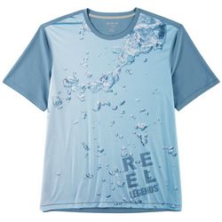 Reel Legends Mens Freeline Sink Or Swim Short Sleeve T-Shirt