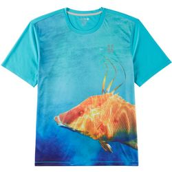 Reel Legends Mens Freeline Hogwater Short Sleeve T-Shirt