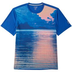 Reel Legends Mens Freeline Sorbet Sky Short Sleeve T-Shirt