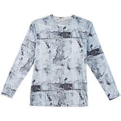 Reel Legends Mens Keep It Cool Plaster Long Sleeve T-Shirt